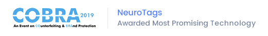 NeuroTags Awarded most Prominent Technology in COBRA 2019 Event