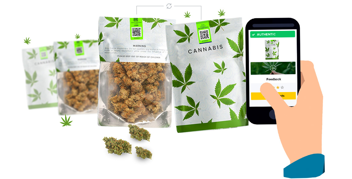Anti-Counterfeit and Consumer Engagement Solution for Cannabis Industry