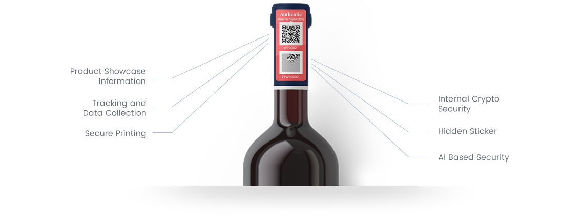 NeuroTags open and protected tag features for Wine and Spirits